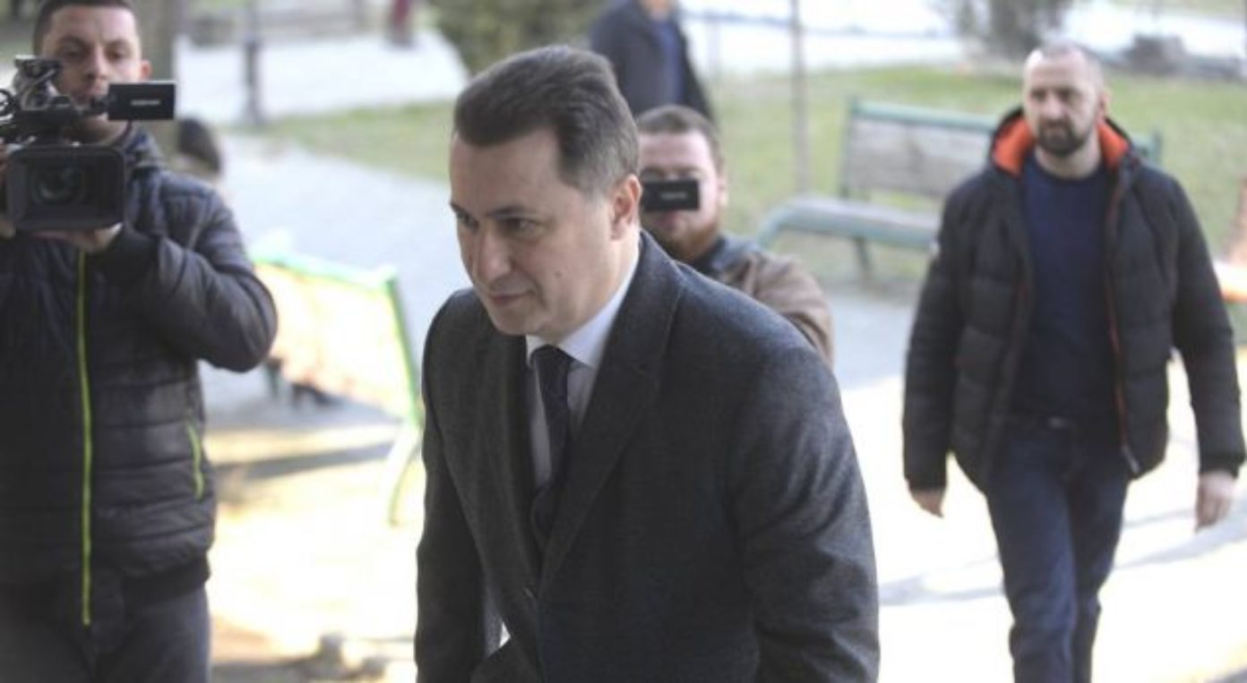 Gruevski's extradition still waiting on a solution