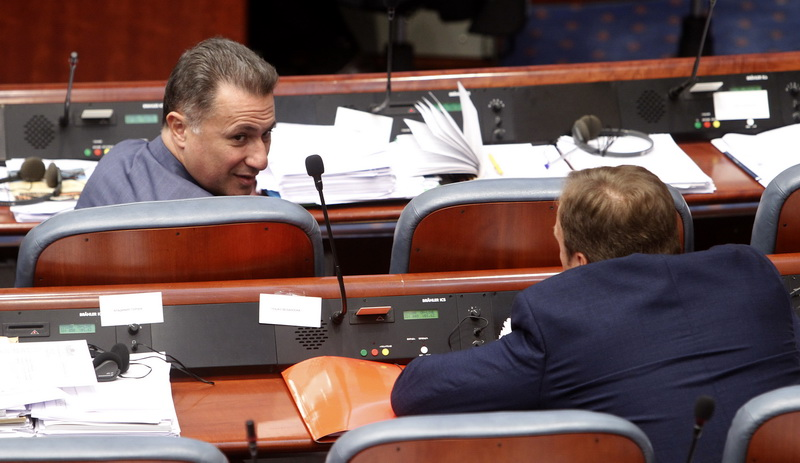 With five votes 'in favor' the Parliament Committee endorses termination of Gruevski's mandate