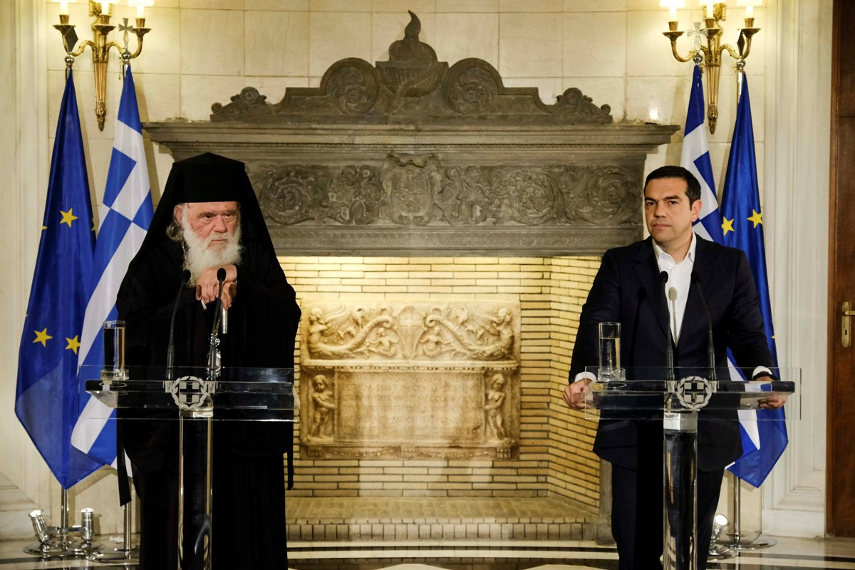 "Prime Minister, Archbishop reach ""historic"" understanding"