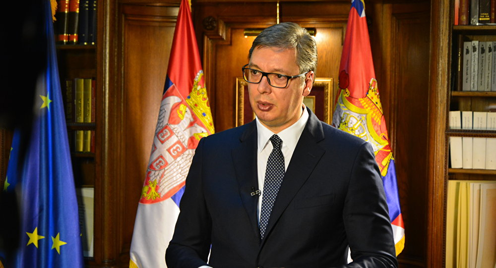 Serbia avoids row with France, expects Macron's visit