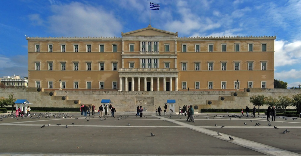 Greece submits first post-bailout budget; pension cuts avoided