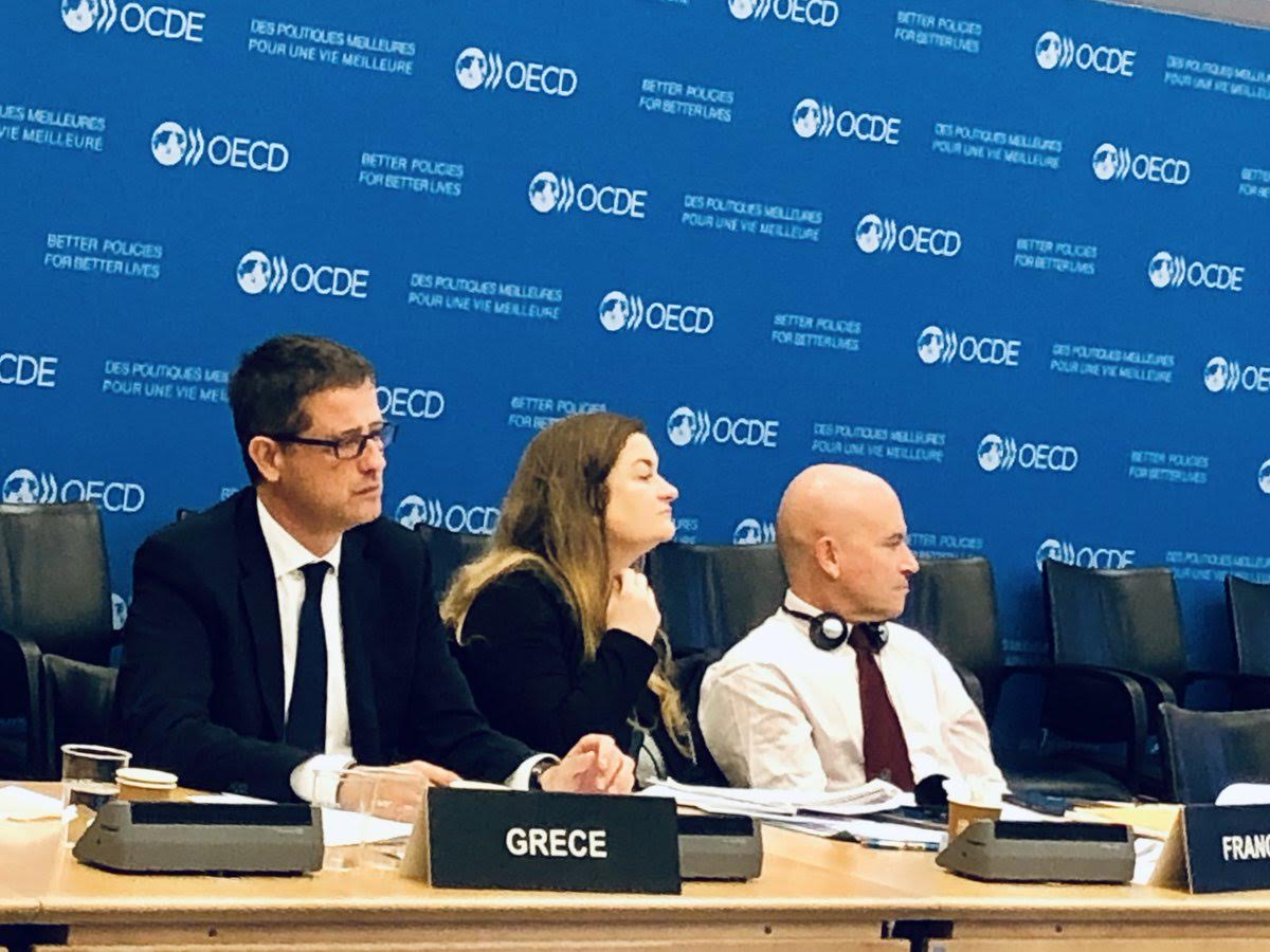 The institutional role of Greece in the OECD is strengthened