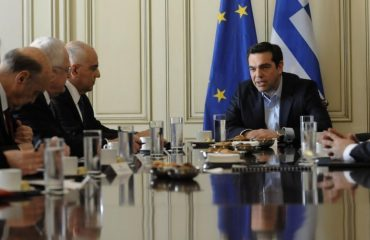 The plan for non-performing loans was discussed by Government and Bankers in Athens