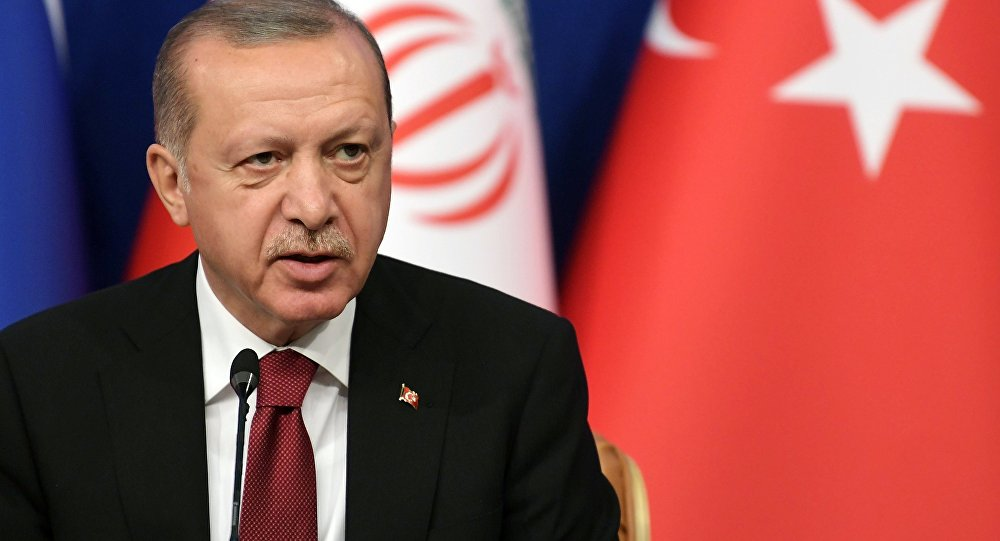 "Erdogan: ""We have no aspirations for anyone's territory"""