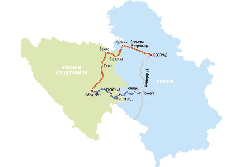 Δυο αυτοκινητόδρομους που θα συνδέουν Βελιγράδι – Σαράγεβο κατασκευάζουν οι Τούρκοι