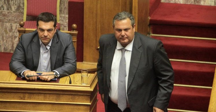 Kammenos makes ambiguous statements about stance in fYROM name-change vote