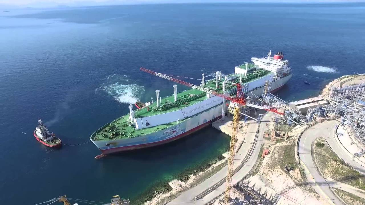 The first load of US LNG to arrive in Greece before the end of the year