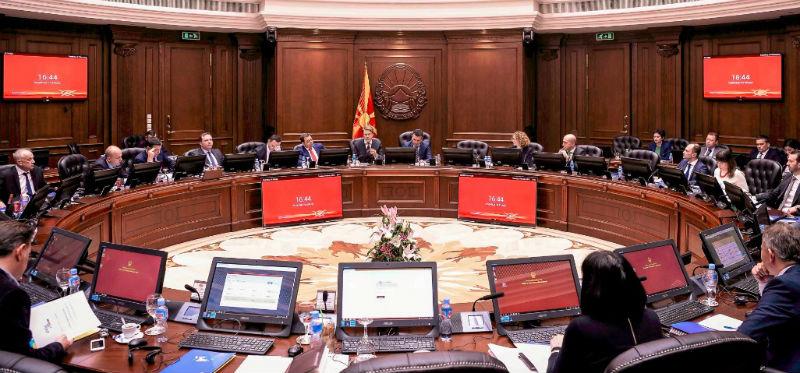 ΠΓΔΜ: Η κυβέρνηση κατέθεσε στη Βουλή τα τελικά κείμενα των τροπολογιών του Συντάγματος