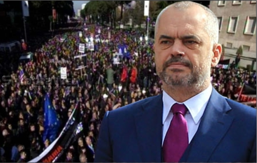 Protests continue in Albania, PM: Another wasted day