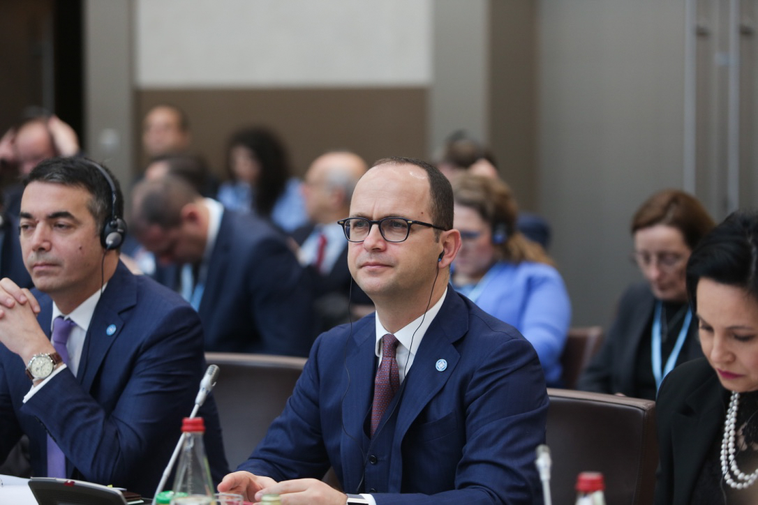 Albanian Foreign Minister Bushati in Paris: Security in Western Balkans