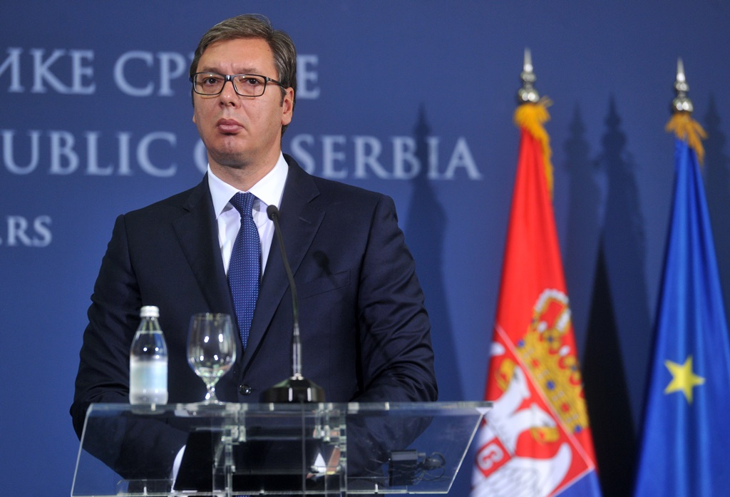 """Vucic """"ready to call early election"""" following protests"""