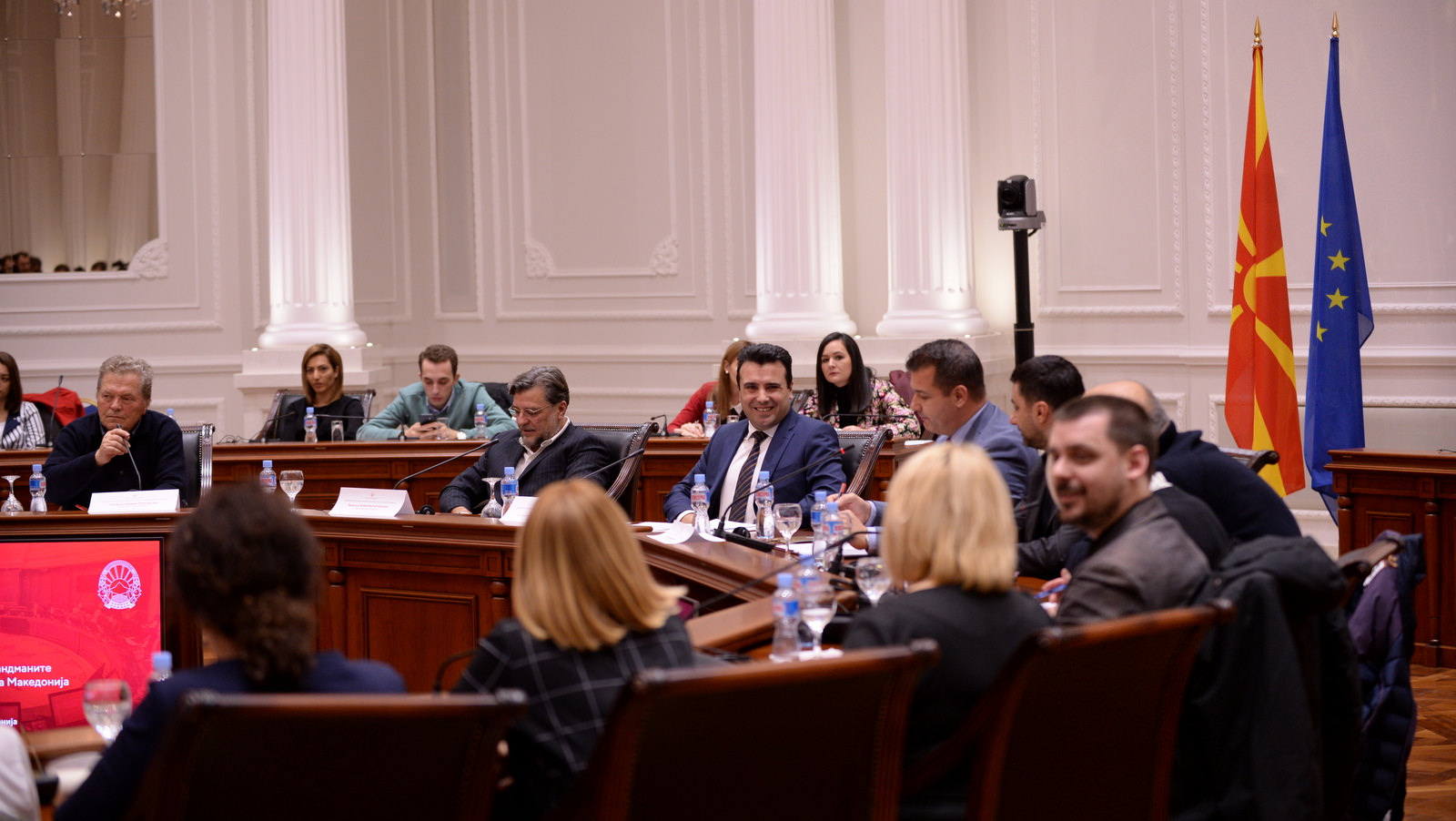 Debates on constitutional amendments, Zaev open to suggestions