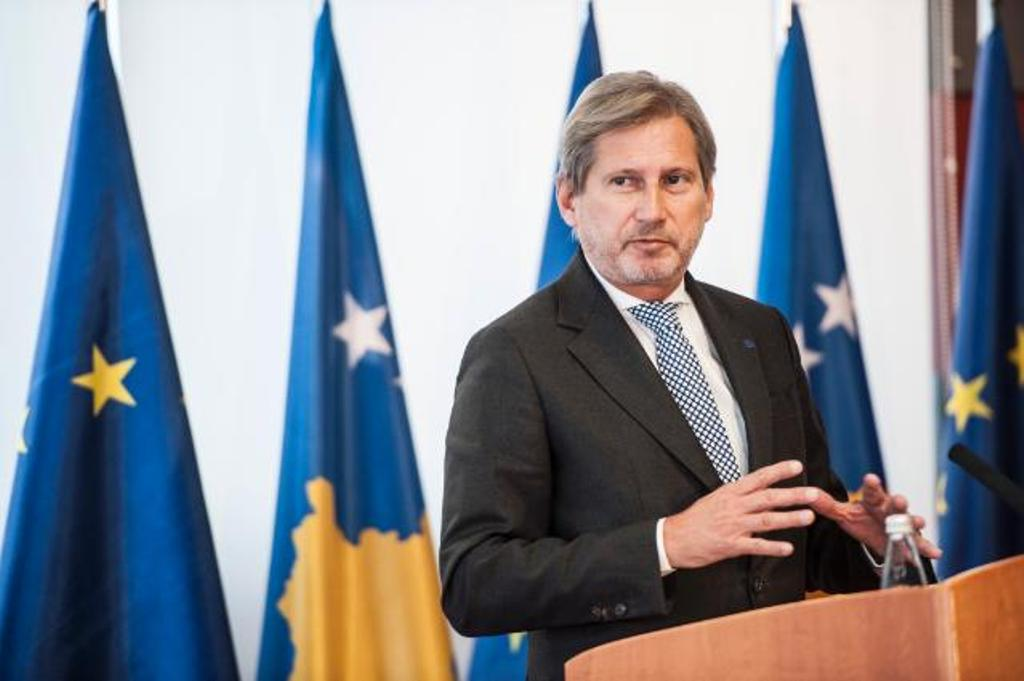 EU commissioner Hahn confident that visas for Kosovar citizens will be lifted by 2020