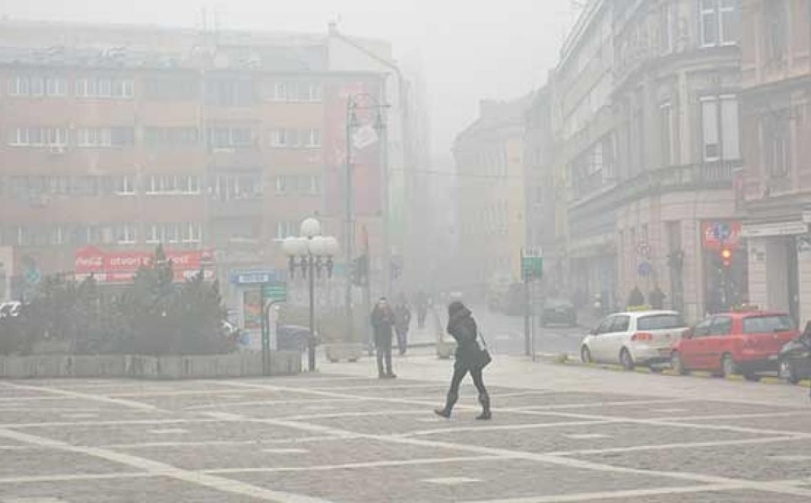 Sarajevo's atmosphere the most polluted on the planet