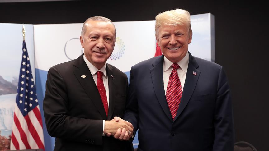 Erdogan Trump meet in Argentina.