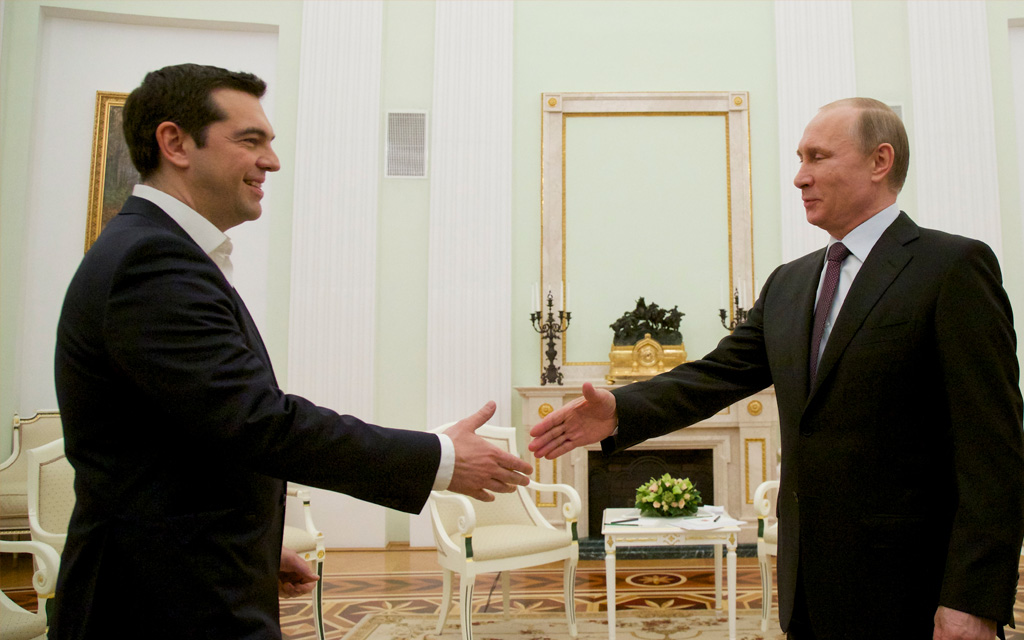 Tsipras in Moscow, seeking the positive agenda