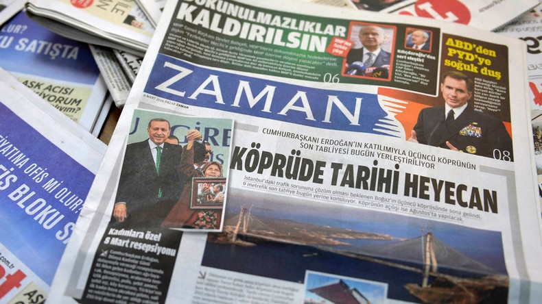 The Turkish embassy accuses the Government in Skopje of subsidizing a newspaper allegedly affiliated with Gullen