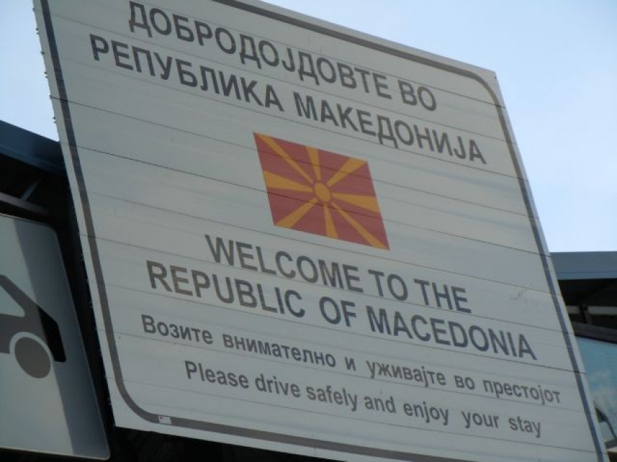 Government in Skopje decides to change signs with the country's new name
