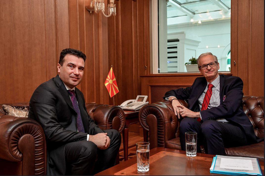 Premier Zaev hails the progress made in the EU integration path