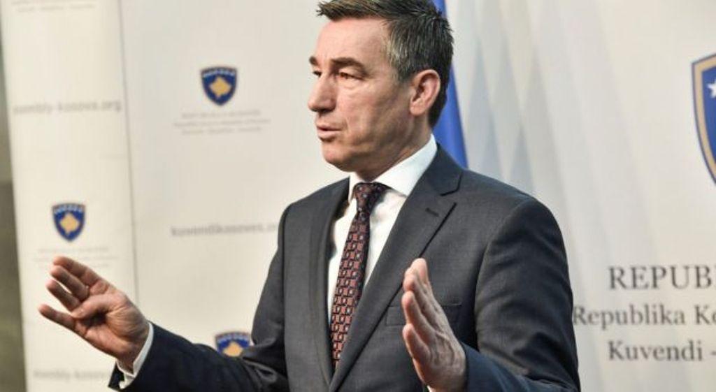 Ο πρόεδρος του κοινοβουλίου του Κοσσυφοπεδίου απαιτεί την 4μηνη αναστολή των τελωνειακών δασμών που επιβλήθηκαν στη Σερβία
