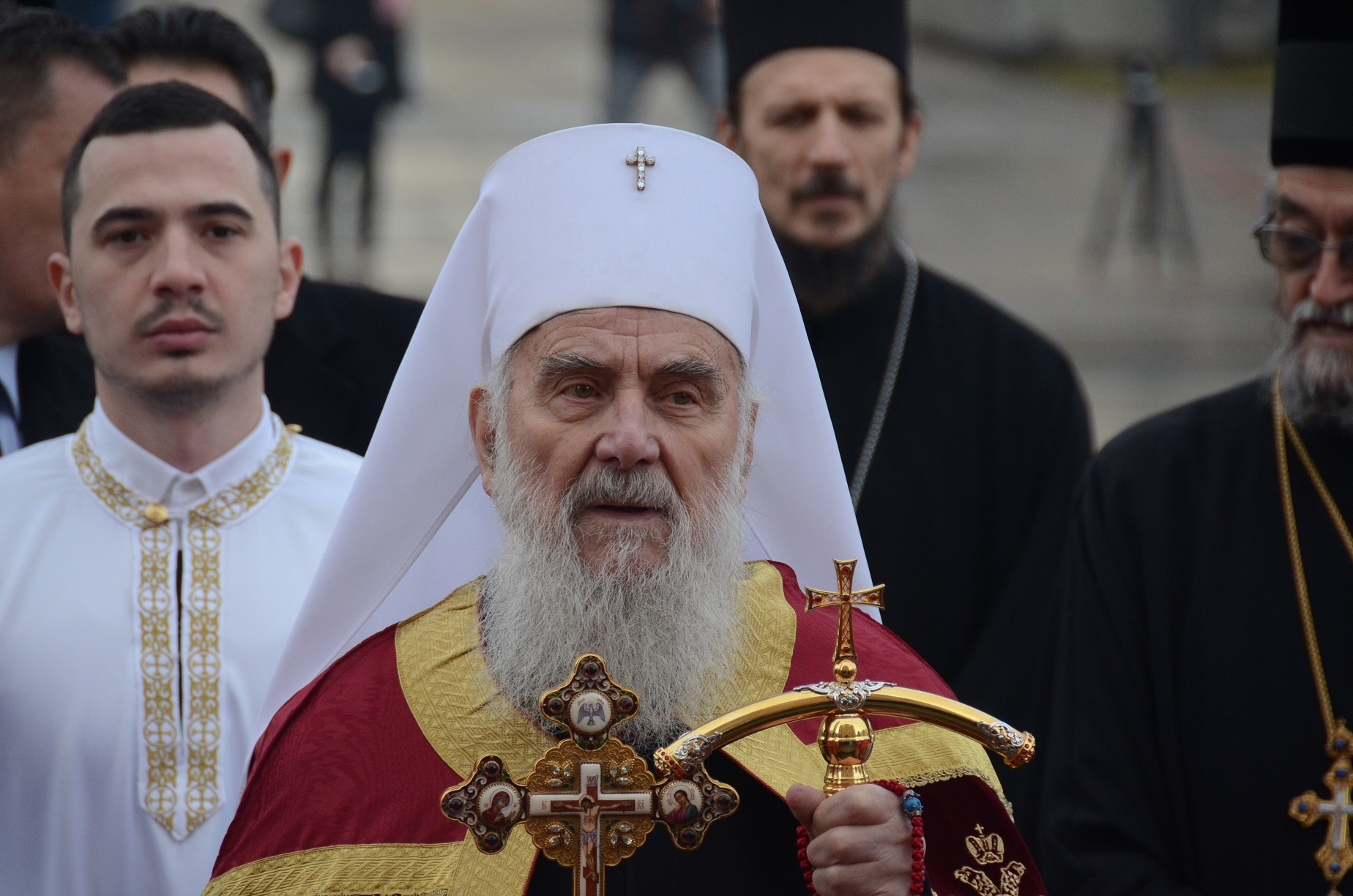 Patriarch's criticism against protests provokes condemnations