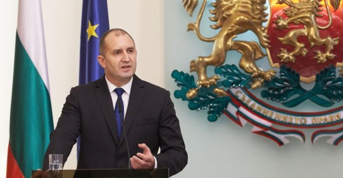 Bulgarian President Radev sees early parliamentary elections as inevitable