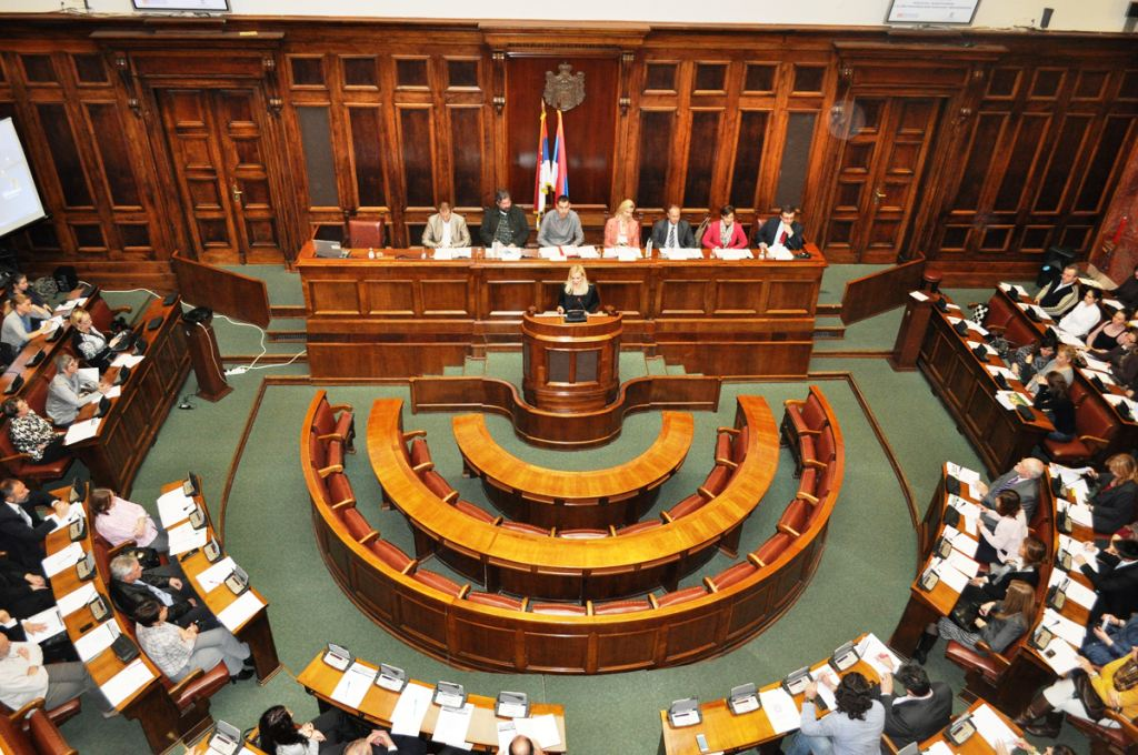 Serbian opposition MPs fined for misconduct