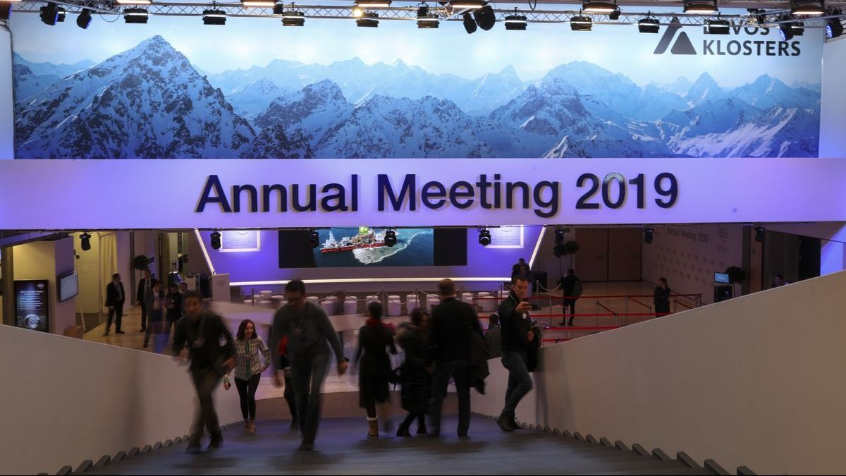 What is happening in Davos?