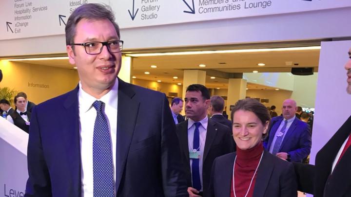 """Vučić u Davosu: """"Skandal"""" i """"epski cinizam"""""""
