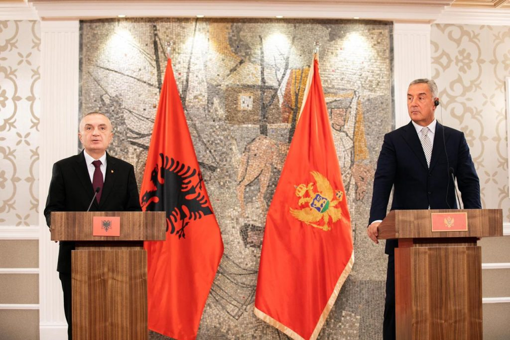 Albanian president in Montenegro: The role of Albanians should strengthen