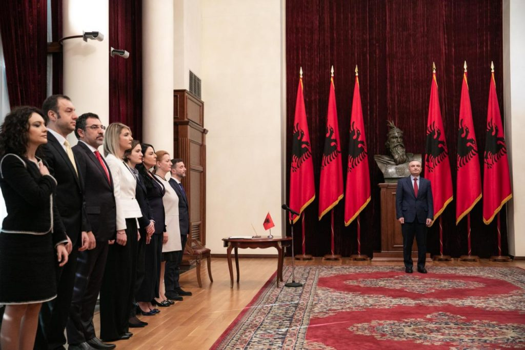 Albania: New govt ministers sworn in,EU considers it an important moment