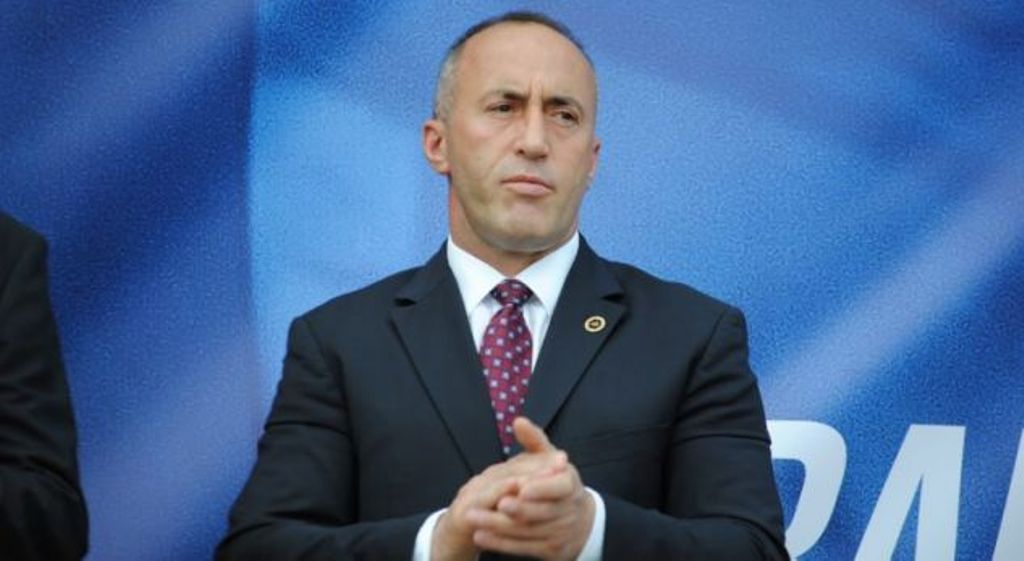 PM Haradinaj says that the tax on Serbian goods will be lifted once Kosovo's independence is recognized