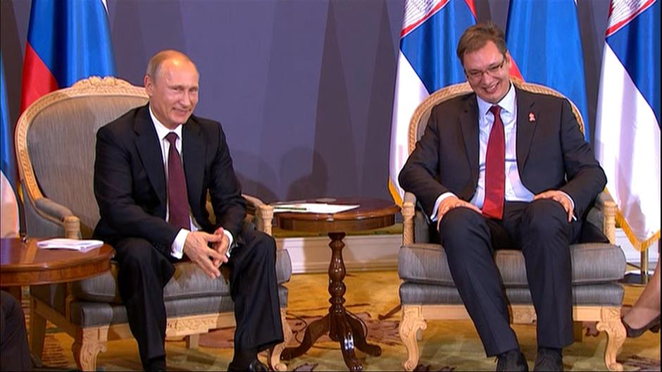 Belgrade is preparing to welcome Putin