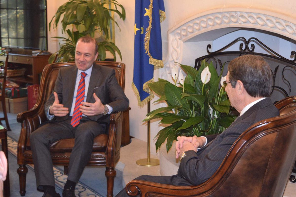 Manfred Weber: The Cyprus issue is a European problem