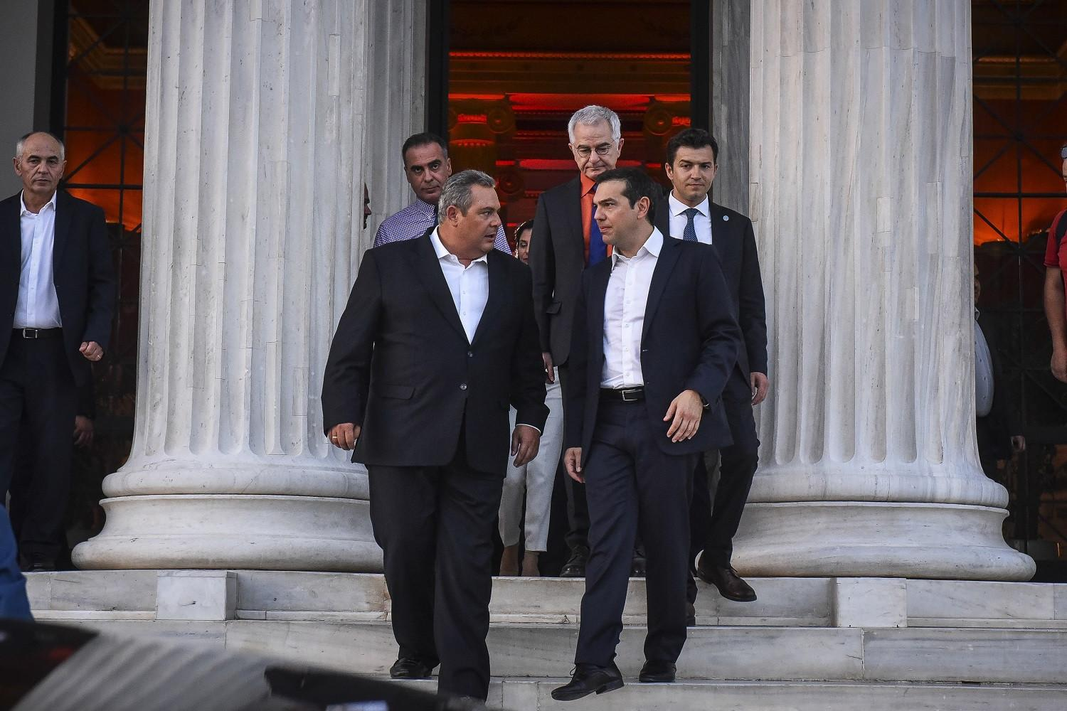Week of political developments in Athens