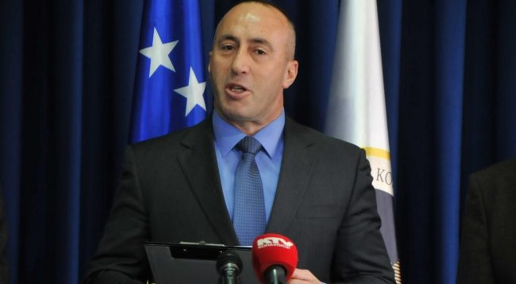 Kosovo's Haradinaj fires minister for use of hate speech