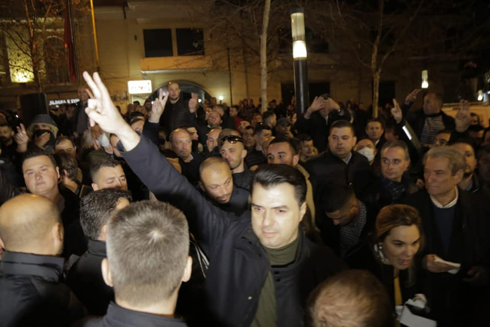 Albanian opposition leader: Civil disobedience from north to south!