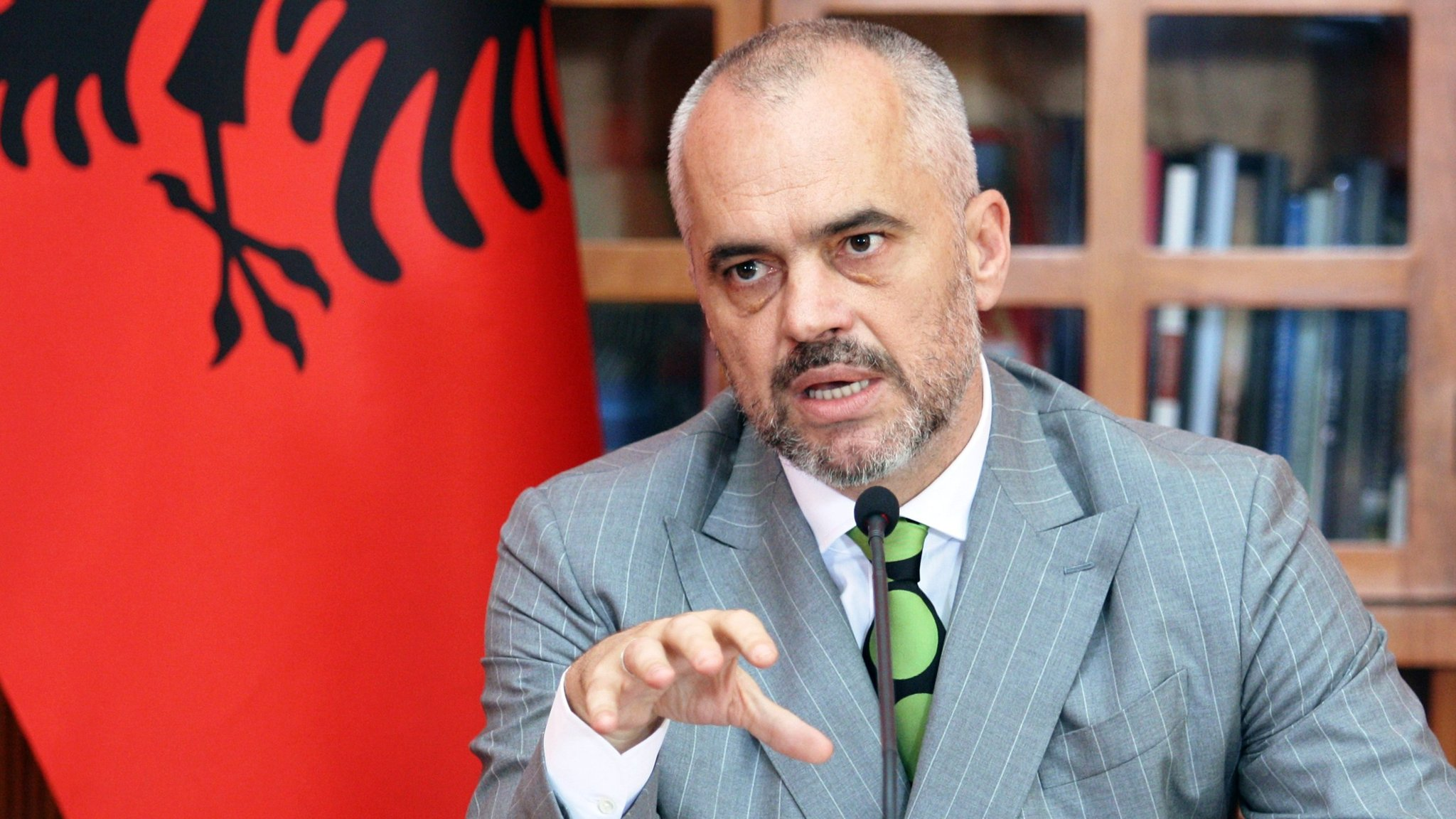 Albania's Rama accuses opposition of launching a campaign of misinformation