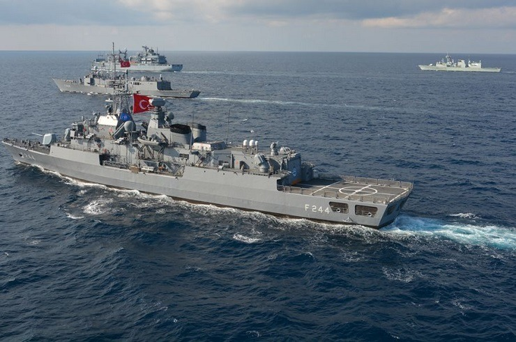 The entire Turkish fleet moves towards the Aegean Sea and Cyprus