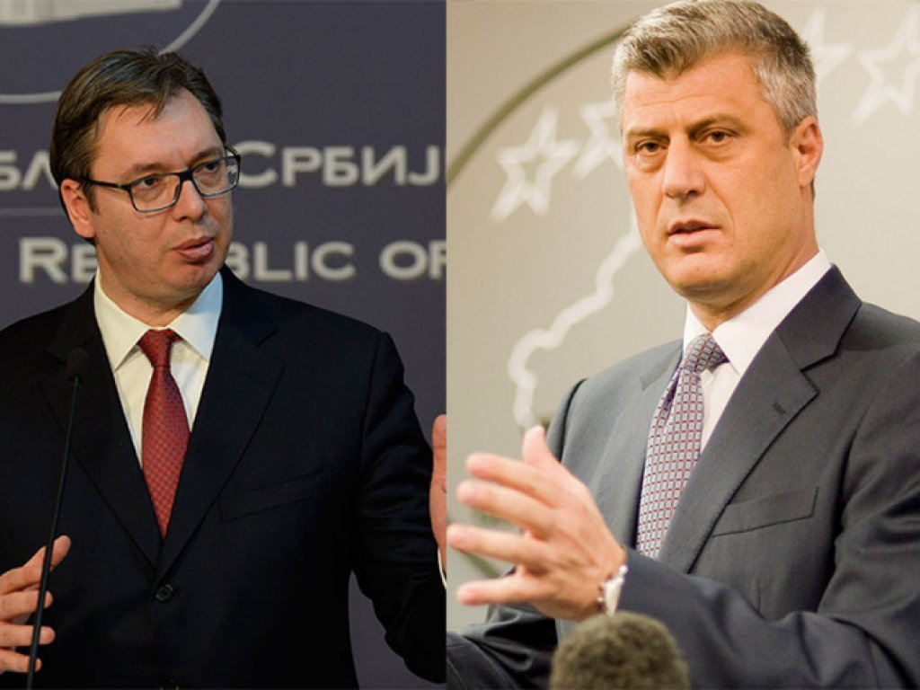 Who will solve the problems between Kosovo and Serbia?