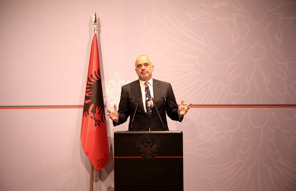 Albanian PM Rama defies the opposition, he refuses to resign
