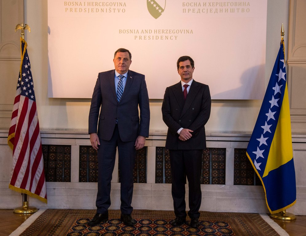 New US Ambassador arrives in BiH