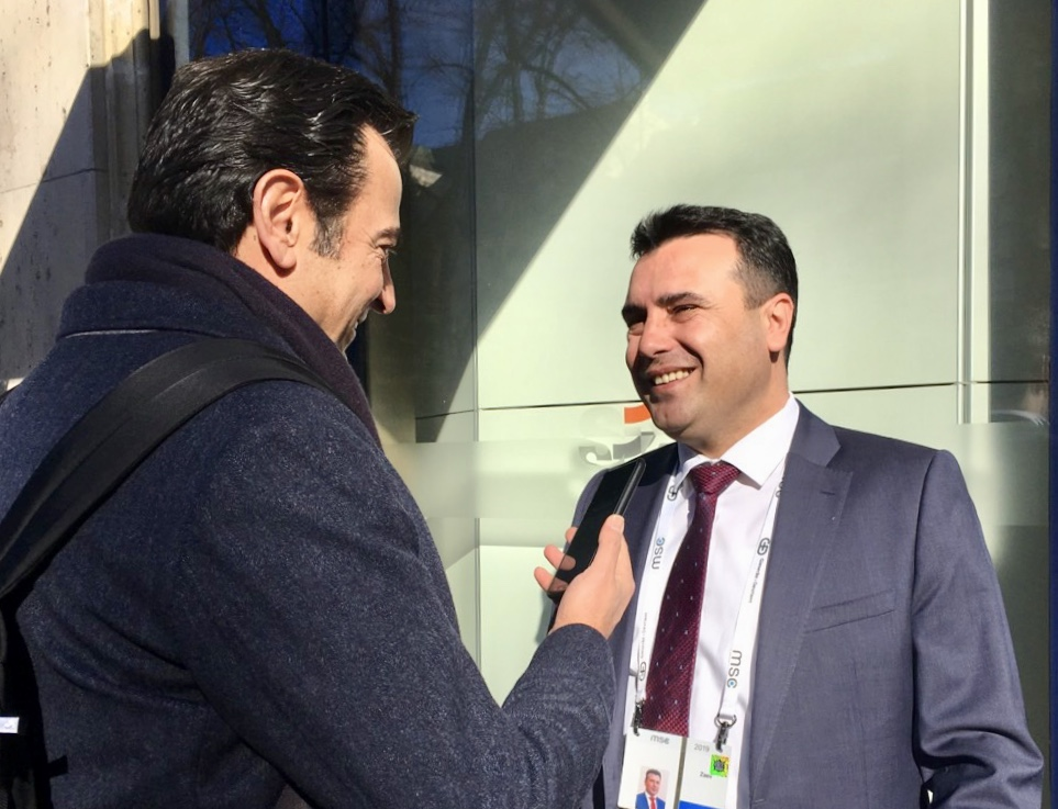 "Exclusive / IBNA. Zaev: The aircraft that will bring me to Athens will write ""Republic of North Macedonia"""