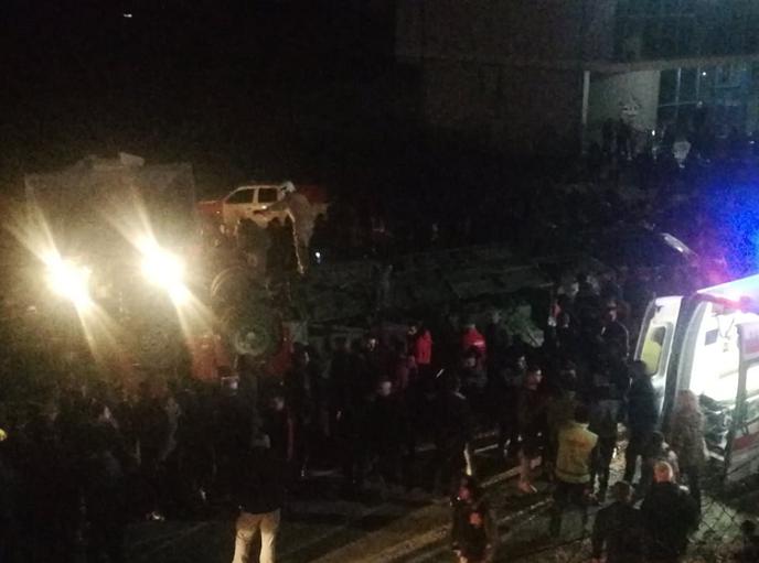 Βόρεια Μακεδονία: Τουλάχιστον 13 νεκροί από ανατροπή λεωφορείου έξω από τα Σκόπια
