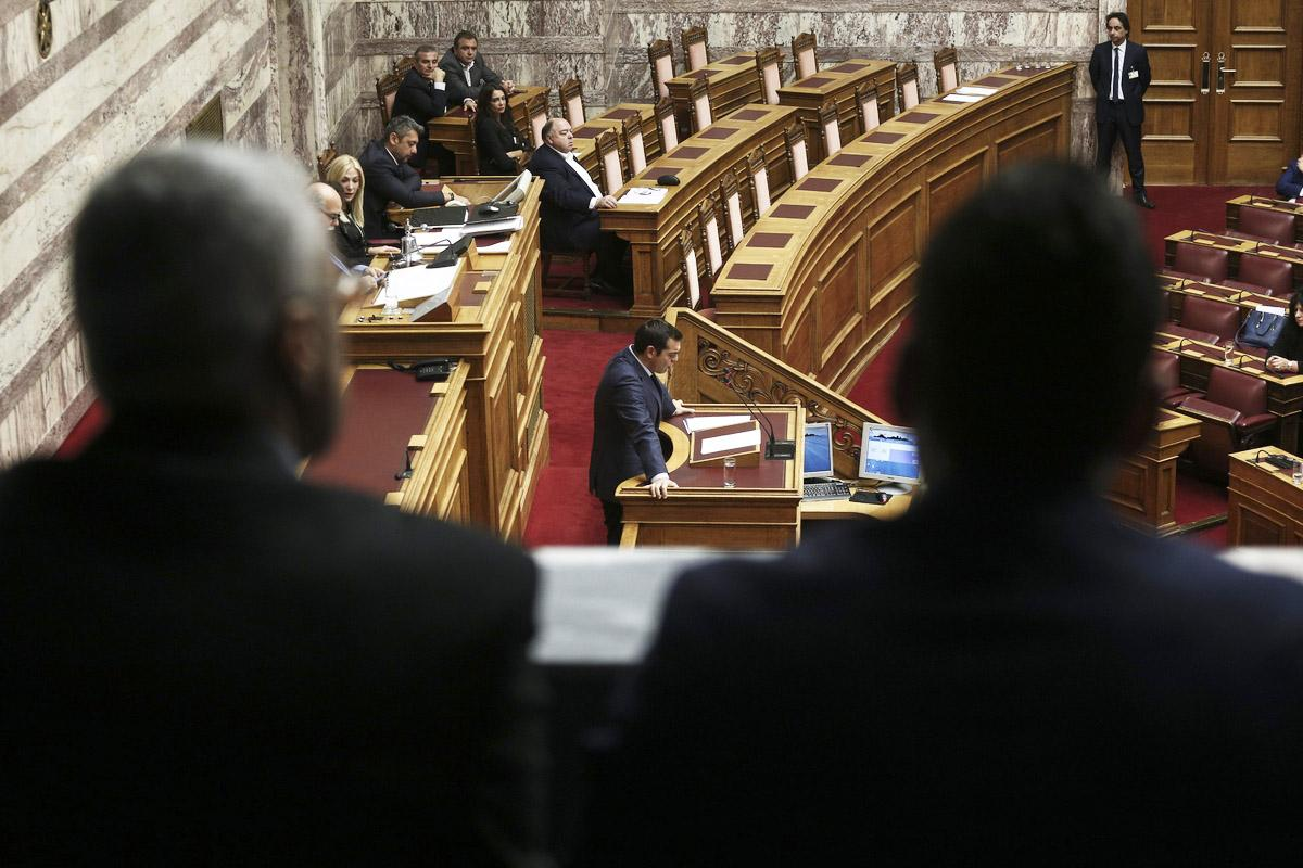 Greek legislators have began the debate for the Constitutional Review
