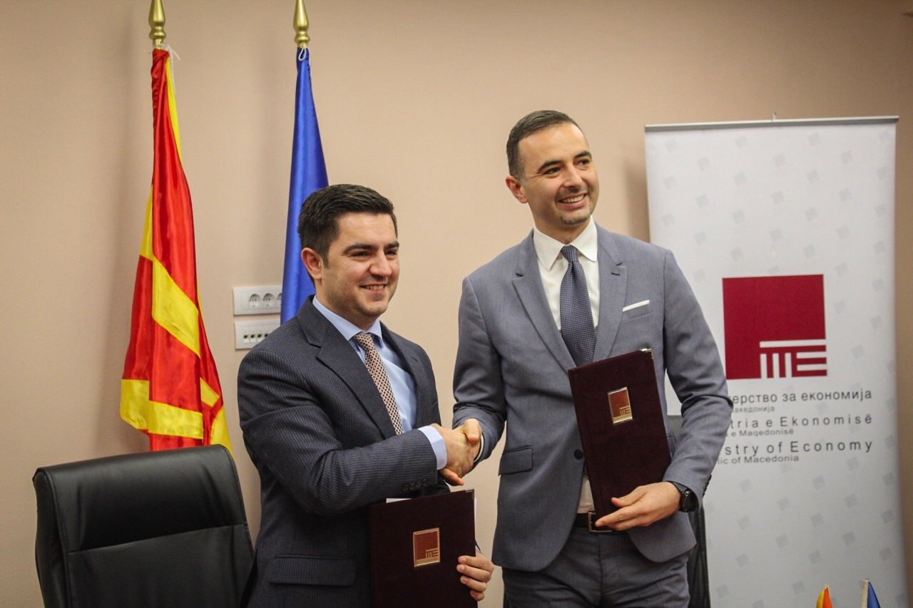 Skopje and Pristina sign a collaboration agreement in the energy sector