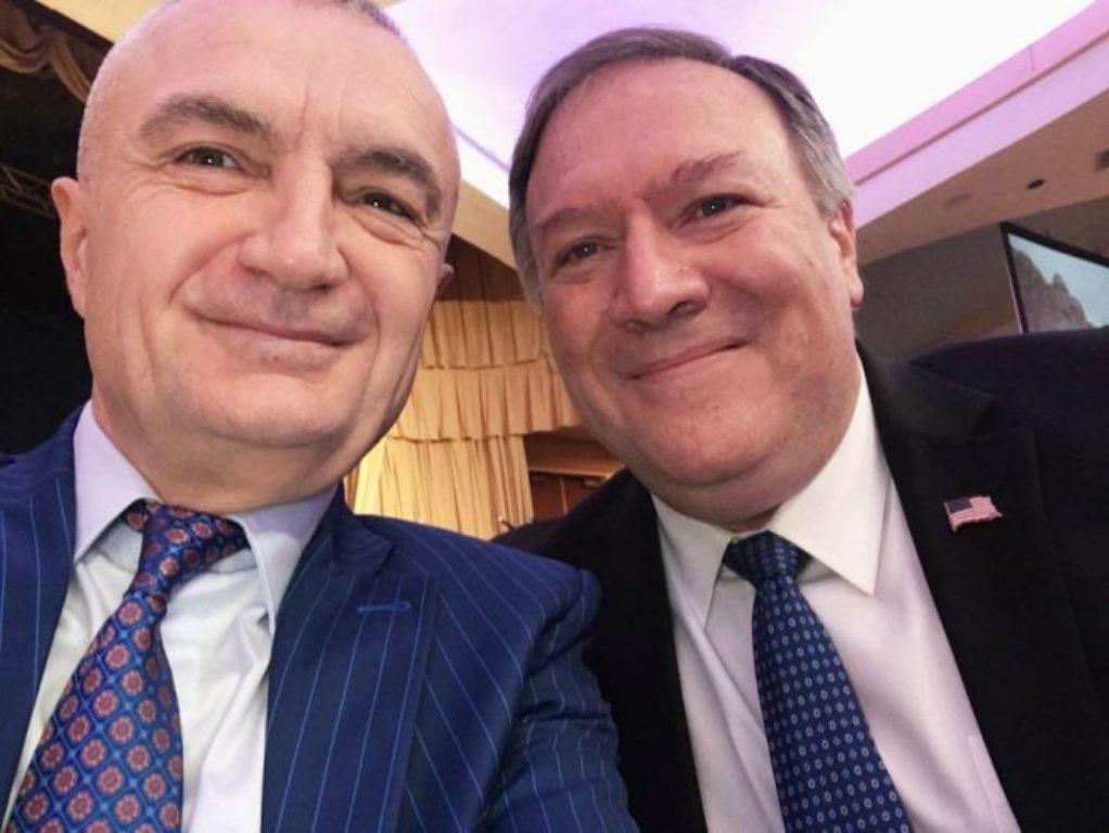 President Meta meets US Secretary of State Pompeo
