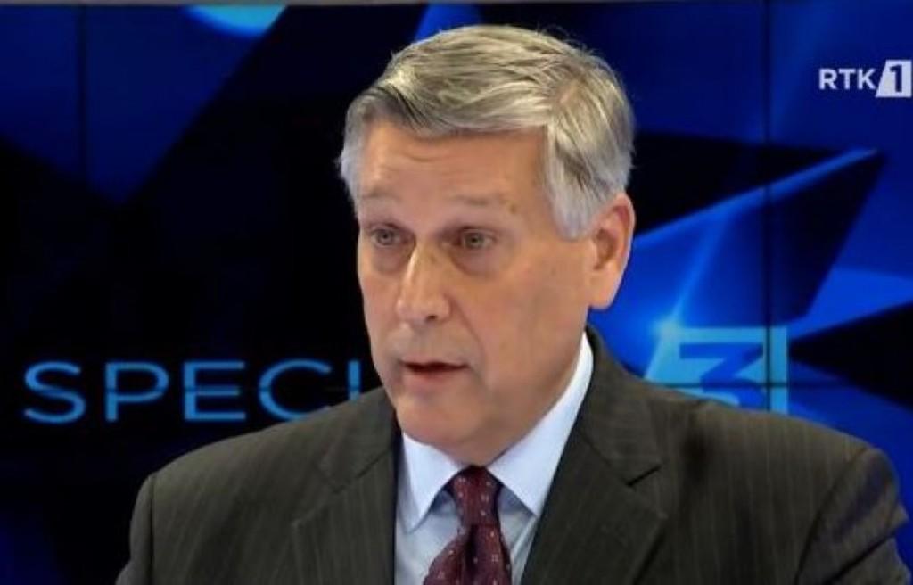Kosnett: Καταδικασμένοι εγκληματίες πολέμου δεν έχουν θέση στην κυβέρνηση του Κοσσυφοπεδίου