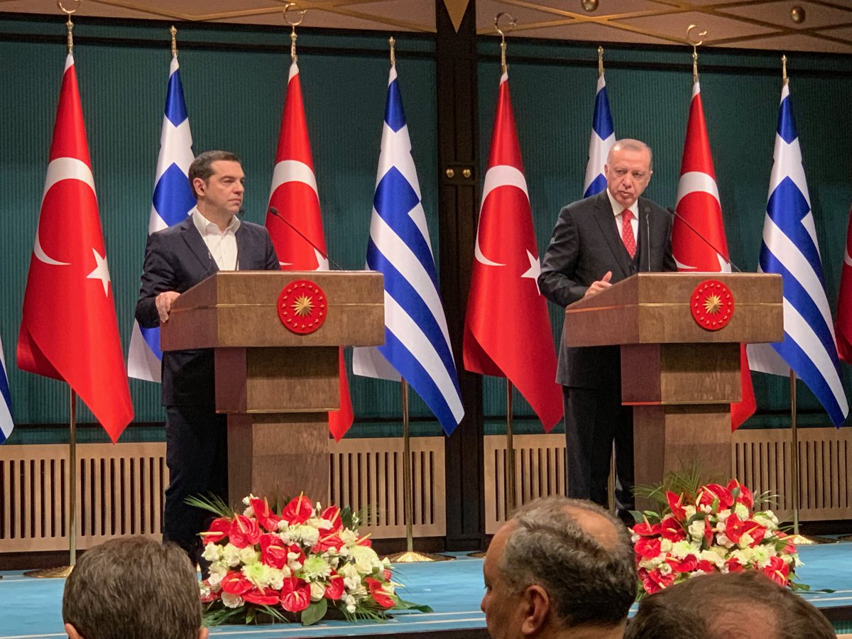 Tsipras returns from Turkey with hopes and promises