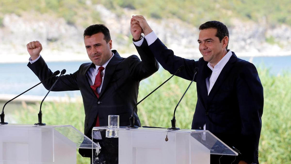 Zaev and Tsipras to be awarded in Munich for the Prespa Agreement